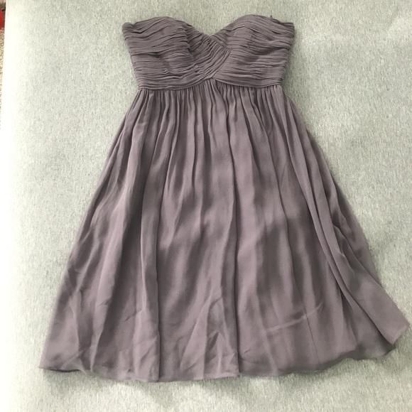 Donna Morgan Dresses & Skirts - Lavender strapless dress